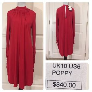 NWT! Temperley London poppy dress